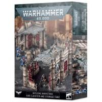 Warhammer 40K - Battlezone Manufactorum – Sub-cloister and Storage Fane