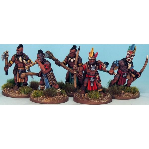 Frostgrave - Ghost Archipelago - Tribals - Plastic Boxed Set