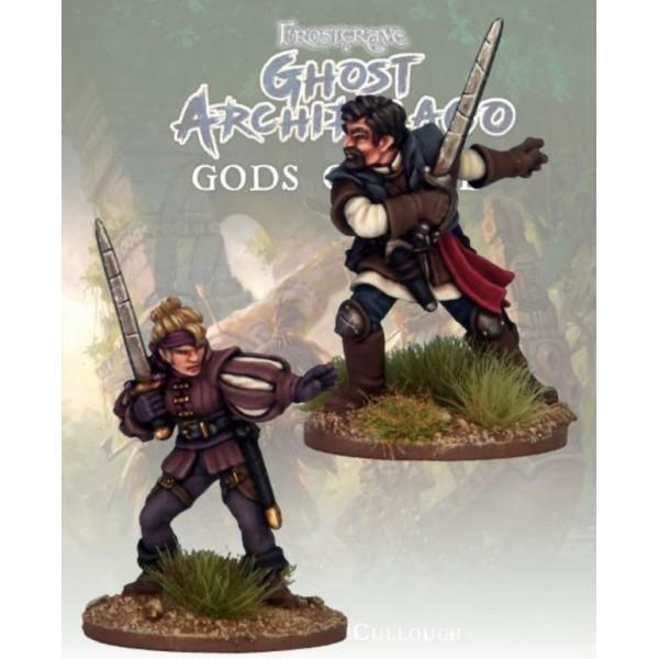 Frostgrave - Ghost Archipelago - Swordmasters