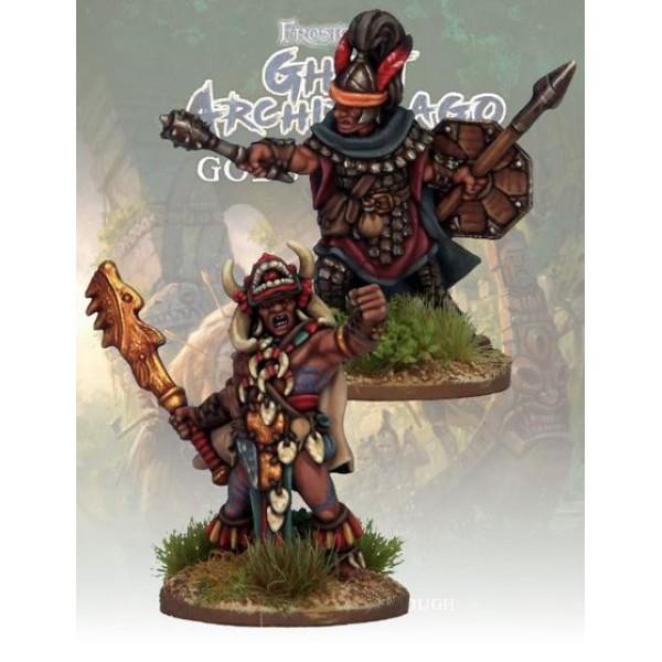 Frostgrave - Ghost Archipelago - Totem Warrior and Vanguard