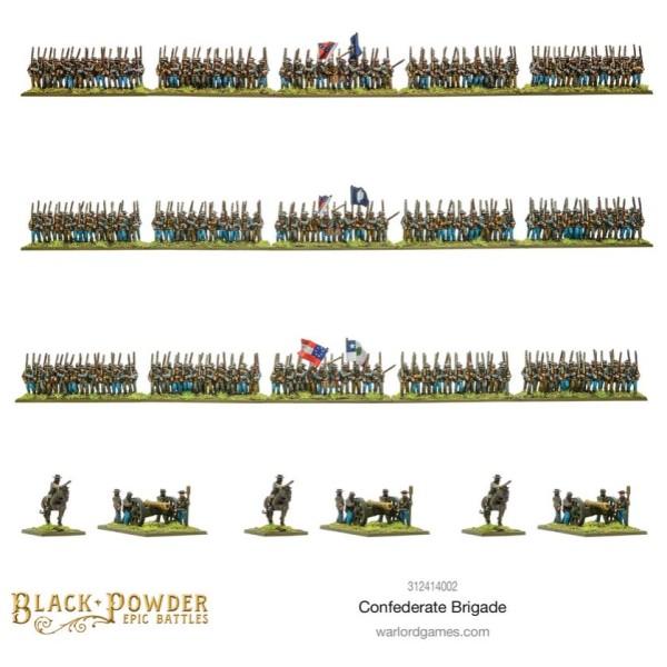 Warlord Games - Black Powder Epic Battles: American Civil War - Confederate Brigade
