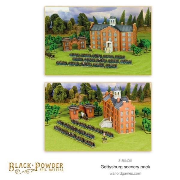 Warlord Games - Black Powder Epic Battles: American Civil War - Gettysburg Scenery Pack