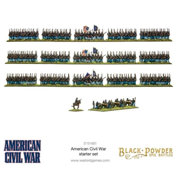 Warlord Games - Black Powder Epic Battles: American Civil War Starter Set