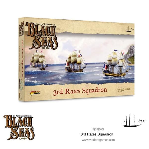 Black Seas - 3rd Rates Squadron (1770 - 1830)