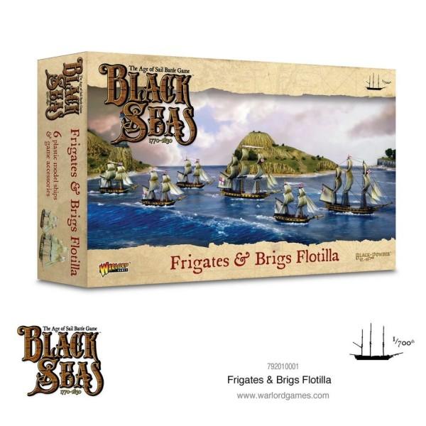 Black Seas - Frigates and Brigs Flotilla (1770 - 1830)