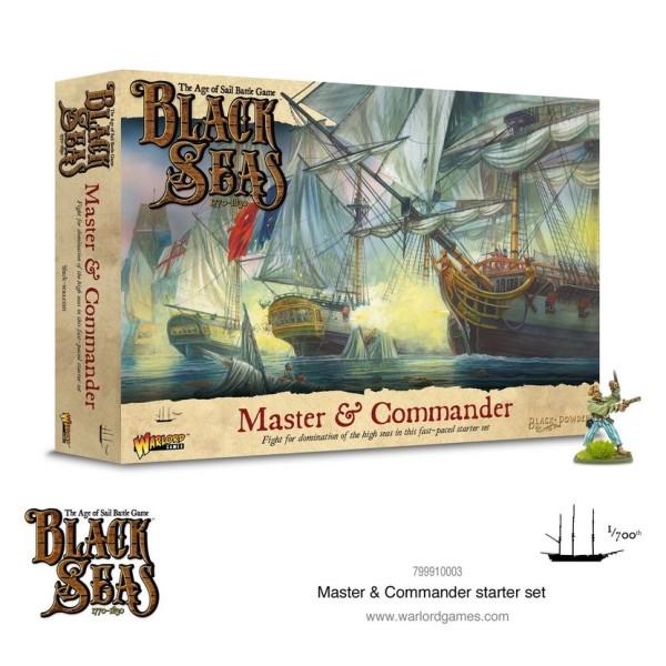 Black Seas - Master and Commander Starter Set
