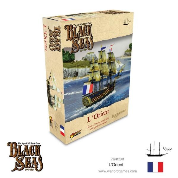 Black Seas - French Navy - L'Orient