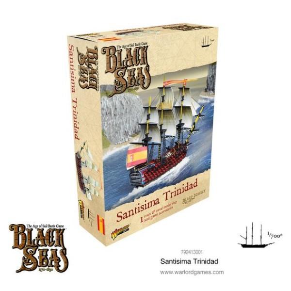Black Seas - Spanish Navy - Santisima Trinidad