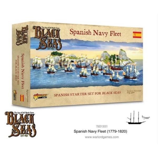 Black Seas - Spanish Navy Fleet (1770 - 1830)