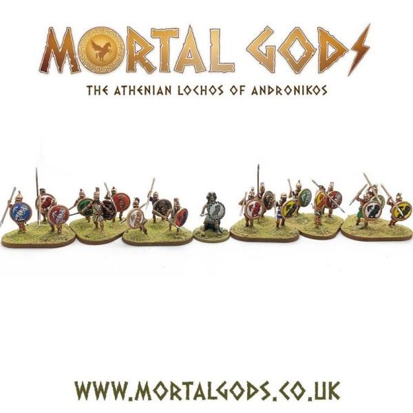 Mortal Gods - Athenian Lochos - Boxed Set