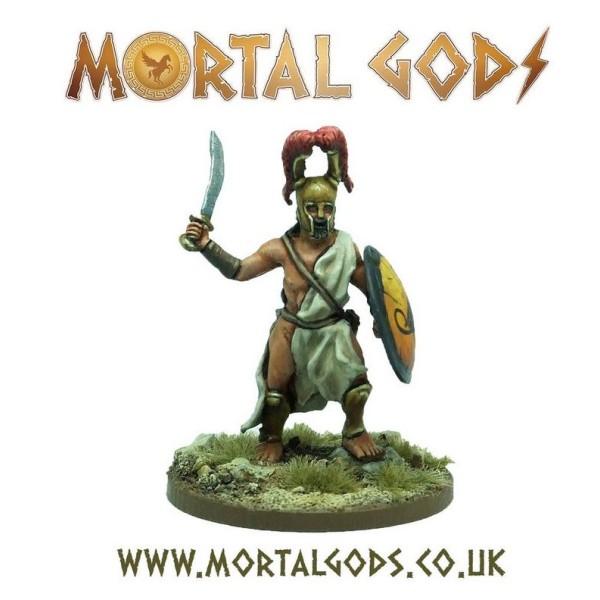 Mortal Gods - Medium Lochagos 1 (Metal)