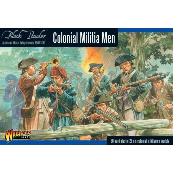 Warlord Games - French Indian War - Colonial Militita Men (AWI)