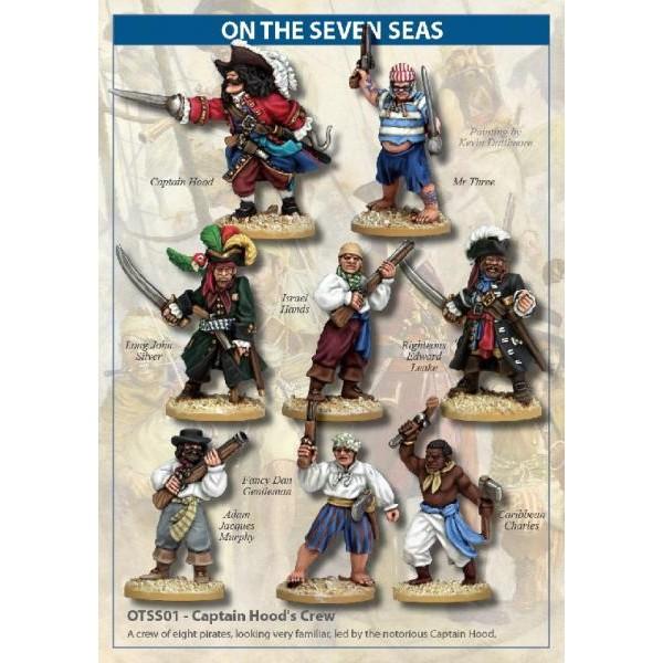 On the Seven Seas - Captain Hood's Crew