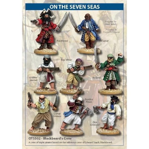 On the Seven Seas - Blackbeard's Crew