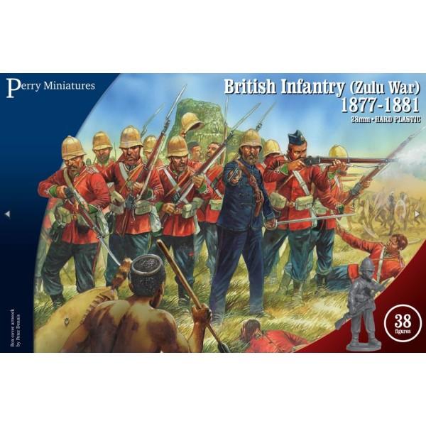 Perry Miniatures - Zulu Wars - British Infantry (1877-1881)