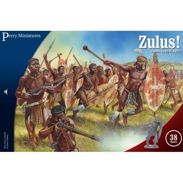Perry Miniatures - Zulu Wars - Zulus!