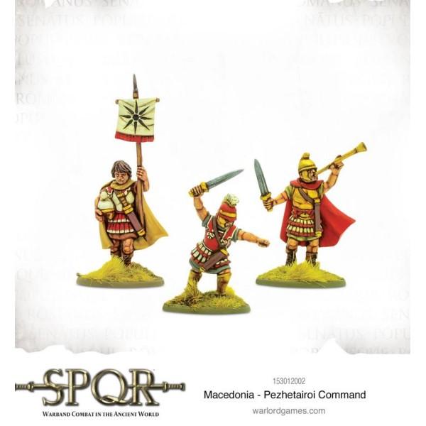 SPQR - Warband Combat in the Ancient World - Macedonia - Pezhetairoi command