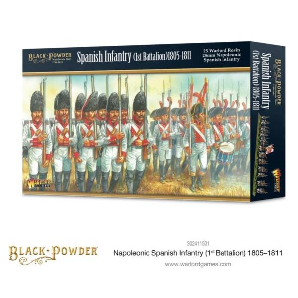 Warlord Games - Black Powder - Napoleonic Spanish Infantry - 1st Battalion