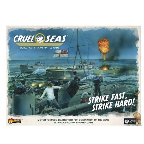 Cruel Seas - WWII Naval Battles - Miniature Game Starter Set