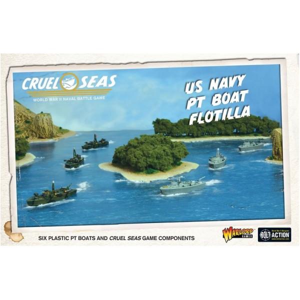 Cruel Seas - WWII Naval Battles - US Navy PT Boat Flotilla