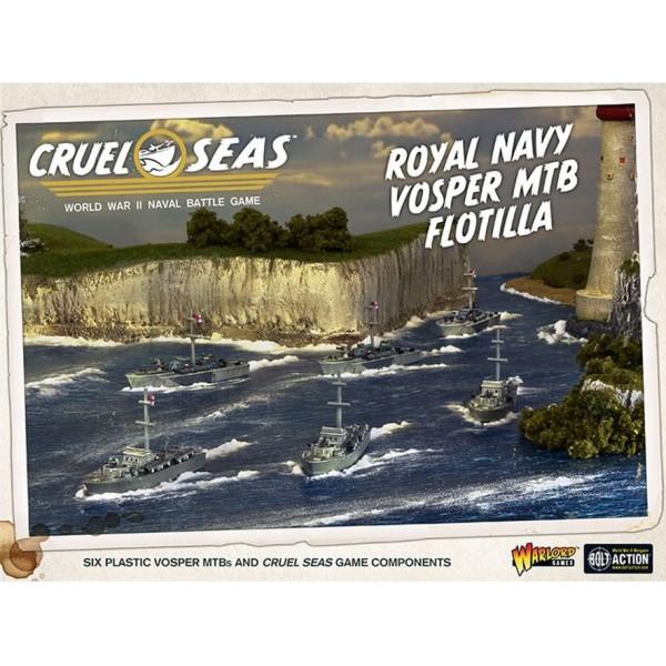 Cruel Seas - WWII Naval Battles - Royal Navy Vosper MTB Flotilla