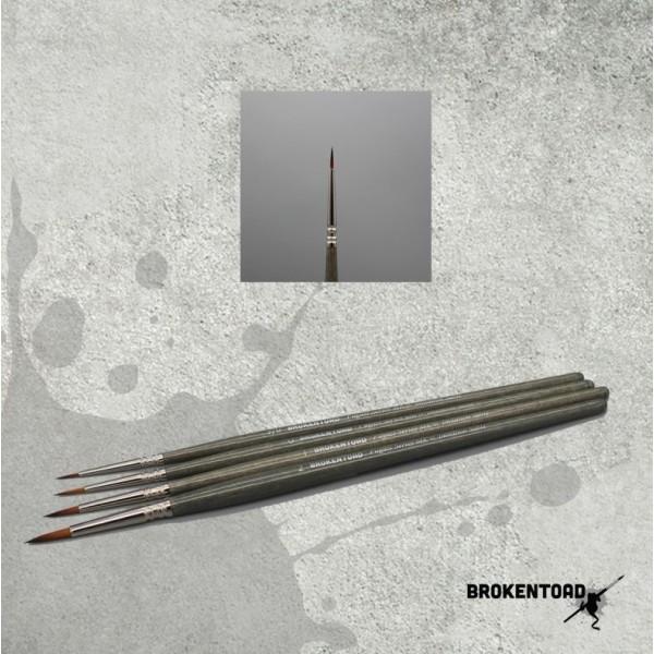 BrokenToad - Fugazi Series MK3 Brush - Size 3/0