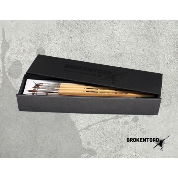 BrokenToad - Miniature Series MK3 Brush - Boxed Set