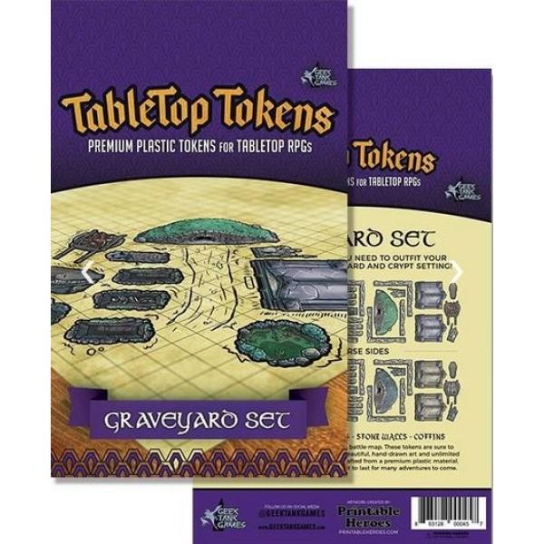 Tabletop Tokens - Graveyard Set
