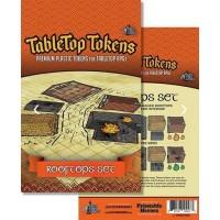 Tabletop Tokens - Rooftops Set