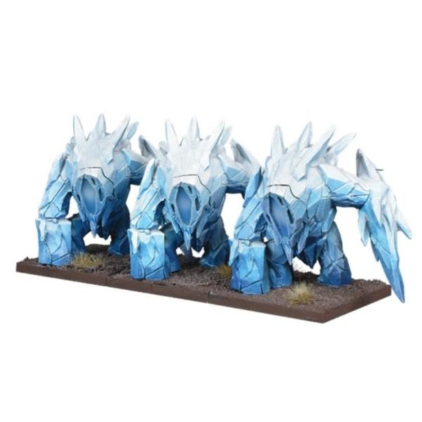 Mantic - Kings of War - Northern Alliance Ice Elemental Regiment