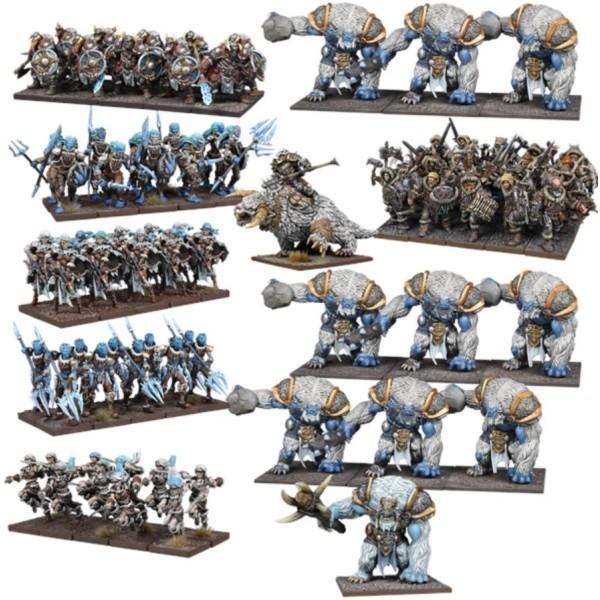 Mantic - Kings of War - Northern Alliance MEGA Army