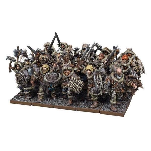 Mantic - Kings of War - Northern Alliance Clansman Regiment