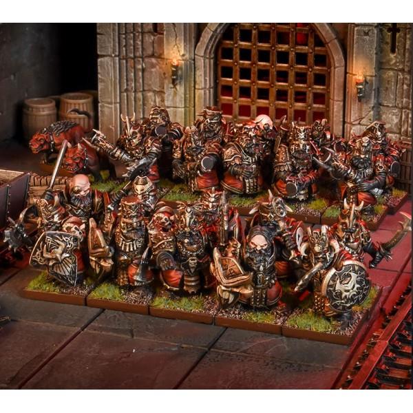 Mantic - Kings Of War - Abyssal Dwarf Blacksoul Regiment