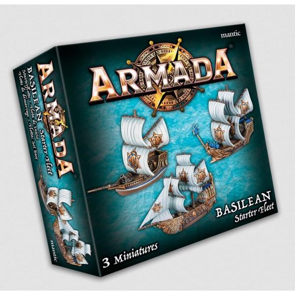 Kings Of War - Armada - Basilean Starter Fleet