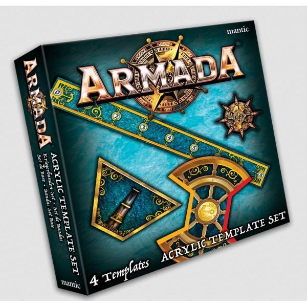 Kings Of War - Armada - Acrylic Template set