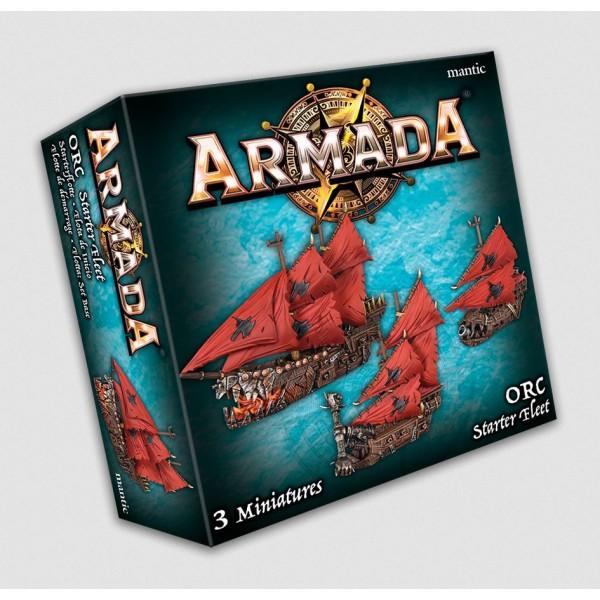 Kings Of War - Armada - Orc Starter Fleet