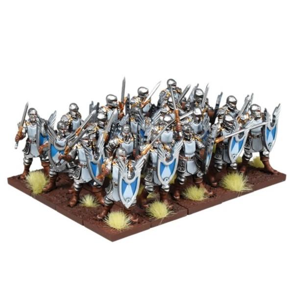 Mantic - Kings Of War - Basilean Men-at-Arms Regiment (2019)