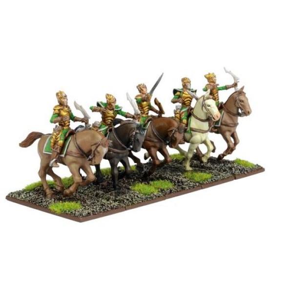 Mantic - Kings Of War - Elf Silverbreeze Cavalry Troop