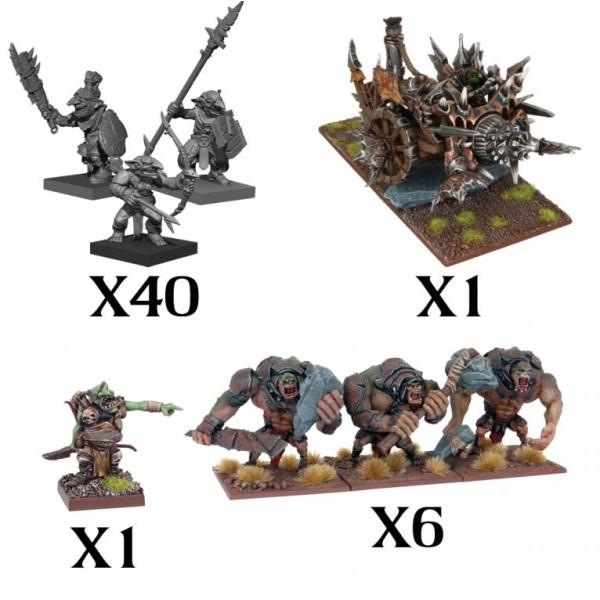 Mantic - Kings Of War - Goblin Army (2020)