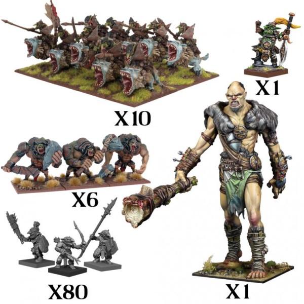 Mantic - Kings Of War - Goblin Mega Force (2020)