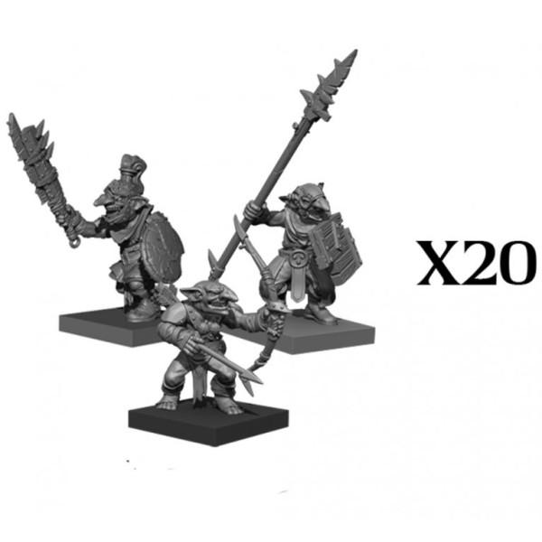 Mantic - Kings Of War - Goblin Regiment (2020)