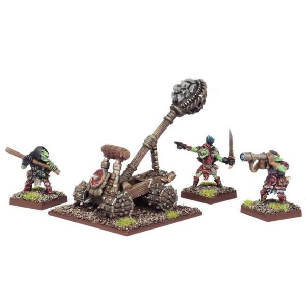 Mantic - Kings Of War - Goblin Big Rocks Thrower