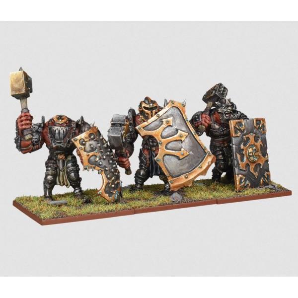 Mantic - Kings Of War - Ogre Siege Breakers Regiment