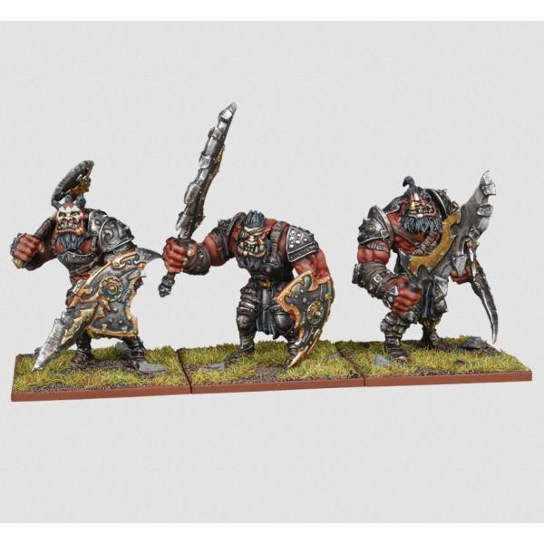 Mantic - Kings Of War - Ogre Warriors Regiment (2020)
