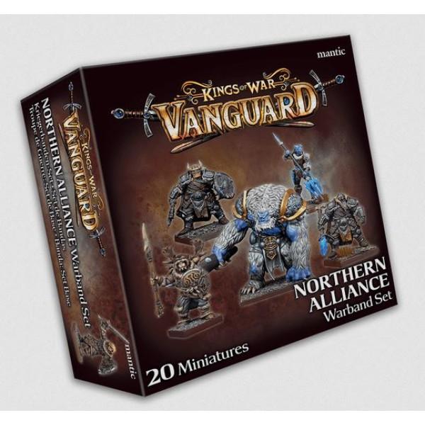Kings Of War - Vanguard - Northern Alliance Warband Set (2020)