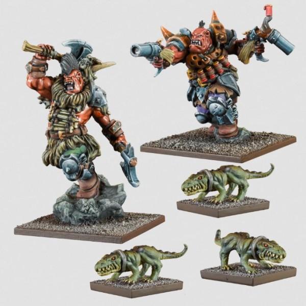 Kings Of War - Vanguard - Ogre Warband Booster