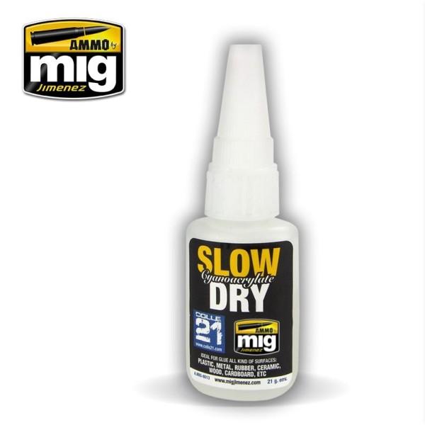 Mig AMMO - SLOW DRY - CYANOACRYLATE (Super Glue)