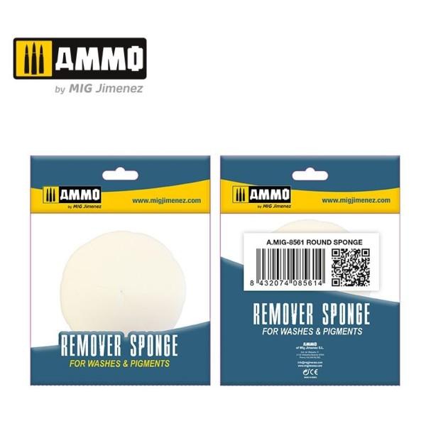 Mig Ammo - Remover Sponges - Round