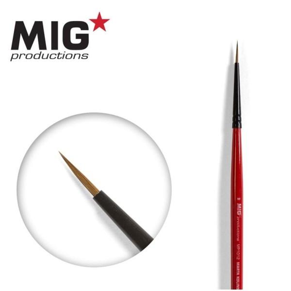 MIG Productions - Marta Kolinsky Modelling Brush - 2/0