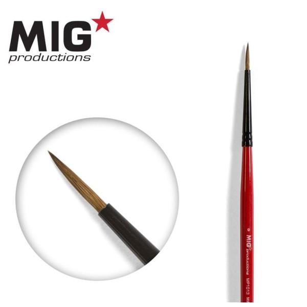 MIG Productions - Marta Kolinsky Modelling Brush - 0